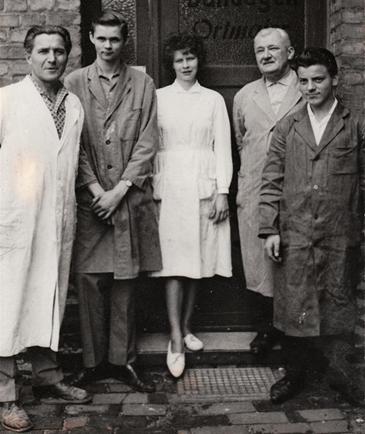 Unternehmensgründer Otto Ortmaier (1968)